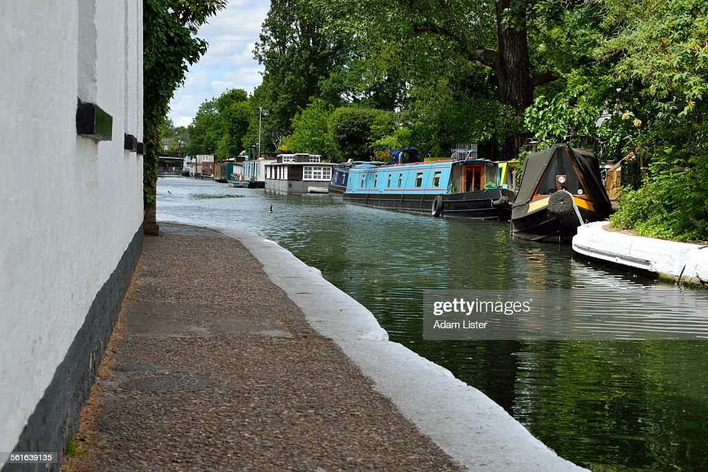 Little Venice canal tow path