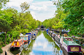 Regent'€™s canal, Little Venice in London, UK