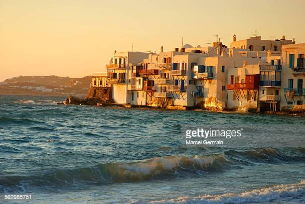 'Little Venice', Mykonos (Greece) sunset