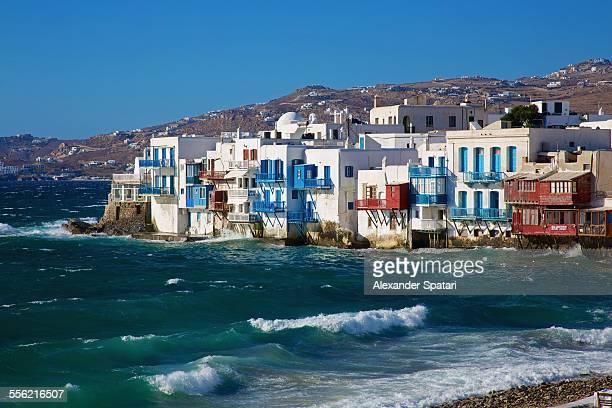 Little Venice, Mykonos waterfront, Greece