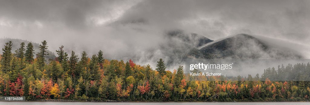 Little Whiteface Emerges from the Cloud Cover