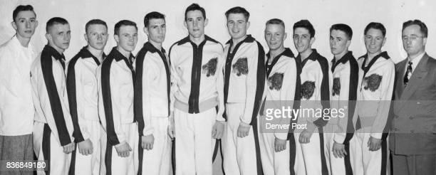 Littleton Guy Sailors manager Gordon Fox Elwood Burge Dareld Hill Bill Graves Allen Hower Leonard Hadley Jack Maier Wally Candler Jack Ashcraft...