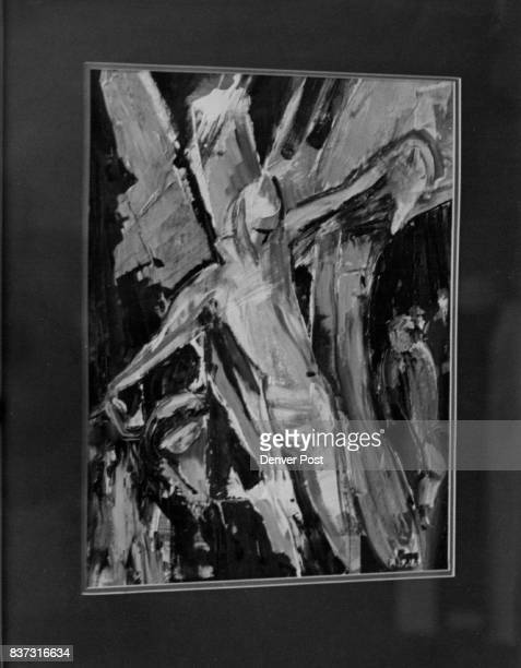 Liturgical Arts On Display A mixedmedia painting by Grace Hickman 'Alpha and Omega' is one of several works in the 1979 Rocky Mountain Liturgical...
