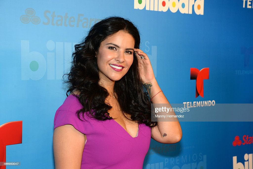 Litzy attends 2014 Billboard Latin Music Awards Press Conference to announce nominations at Gibson Miami Showroom on February 5, 2014 in Miami, Florida.
