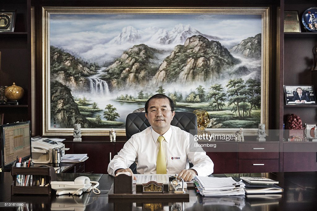 China Gas Holdings Ltd Chairman Liu Minghui Interview Getty Images