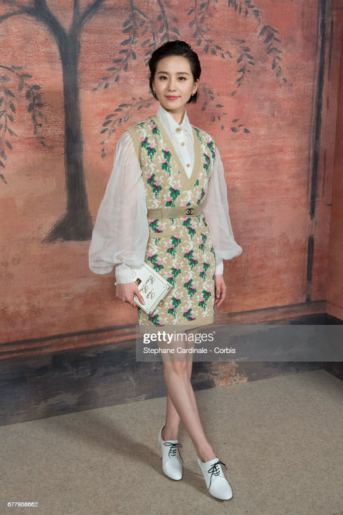 Liu Shishi attends the Chanel Cruise 2017/2018 Collection