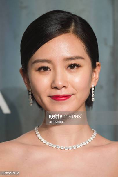 Liu Shishi attends the Lost In Space event to celebrate the 60th anniversary of the OMEGA Speedmaster which has been worn by every piloted NASA...