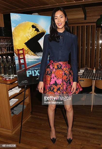 Liu Wen attends a Dinner Honoring The Women Of 'Pixels' at Upland on July 20 2015 in New York City