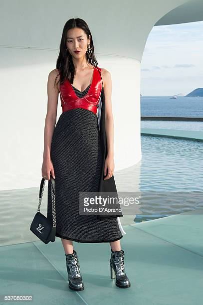 Liu Wen attends Louis Vuitton 2017 Cruise Collection at MAC Niter on May 28 2016 in Niteroi Brazil