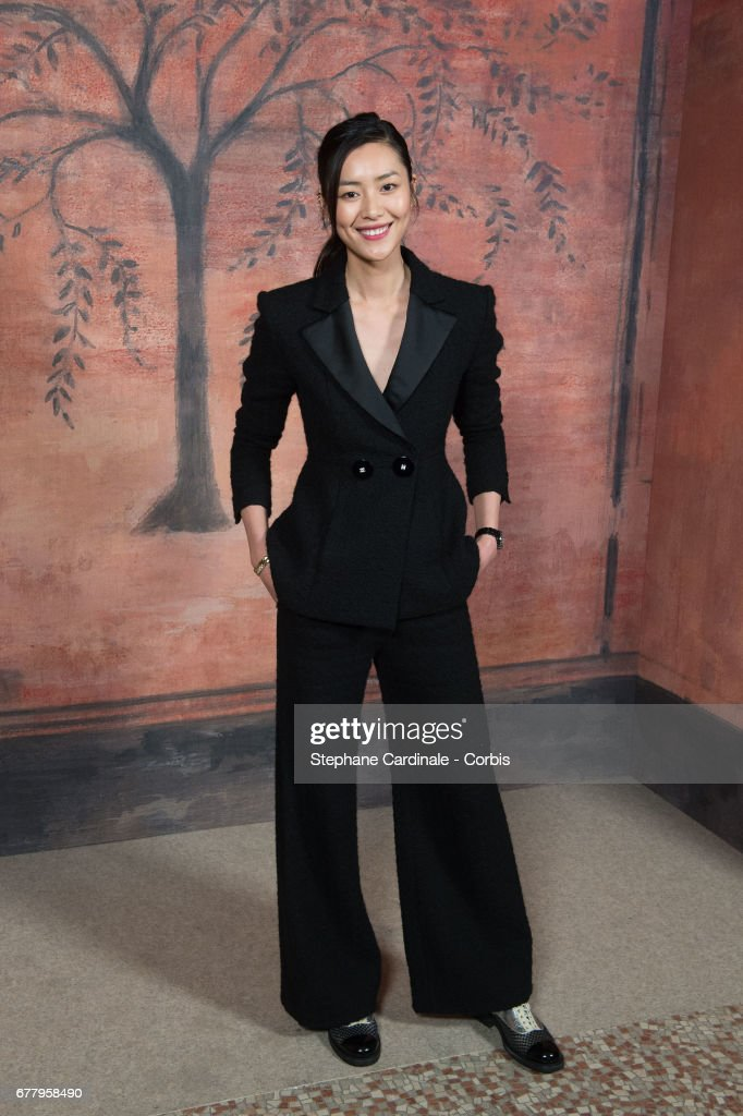Liu Wen attends the Chanel Cruise 2017/2018 Collection