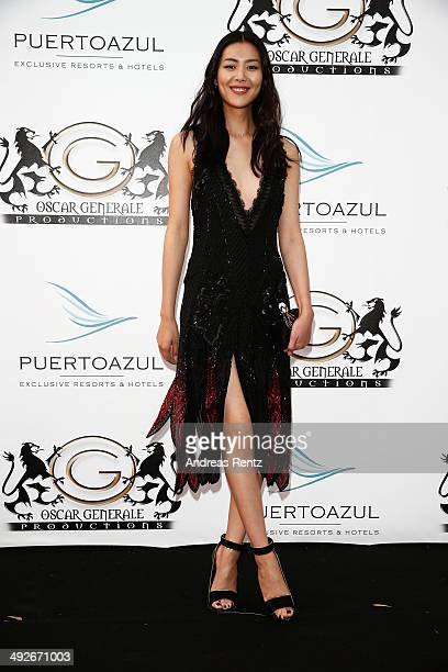 Liu Wen attends the Puerto Azul Experience at the 67th Annual Cannes Film Festival on May 21 2014 in Cannes France