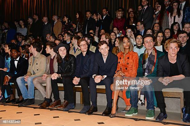 Liu Wen Tinie Tempah Ed Holcroft George Mackay James Bay James Norton George Barnett Jourdan Dunn Nick Grimshaw and Ben Nordberg attend the front row...