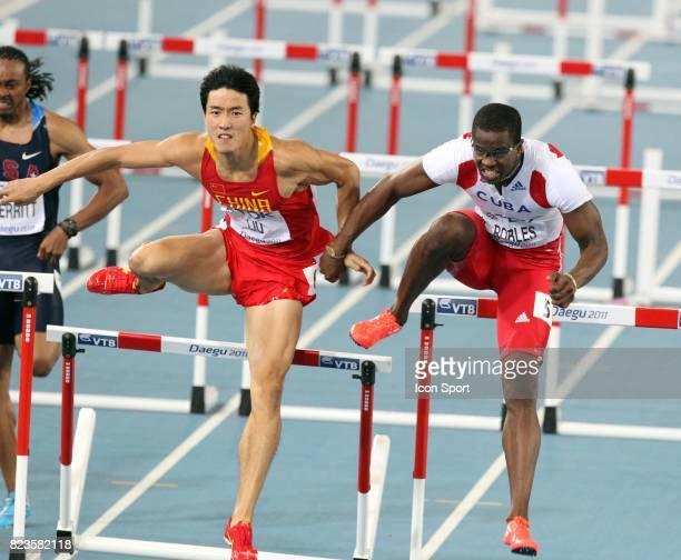 Liu Xiang / Dayron Robles Finale 110m Haies Championats du Monde d Athletisme 2011 Daegu