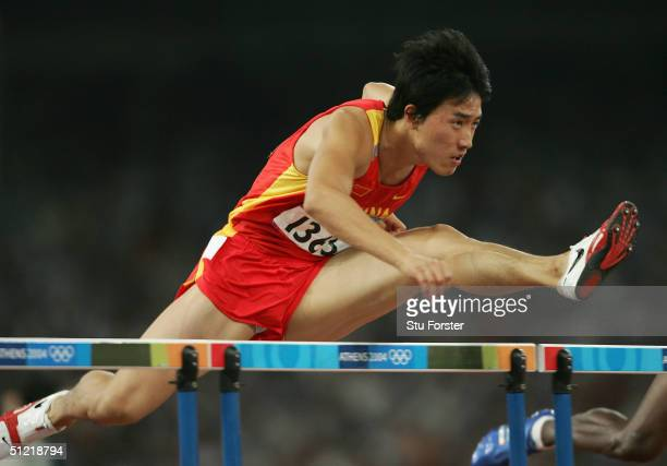 Liu Xiang Hurdler Stock Photos and Pictures | Getty Images