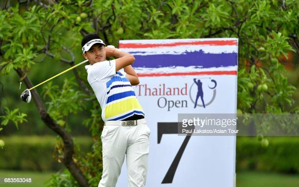 Liu Yan Wei of China pictured during the proam ahead of the 2017 Thailand Open at the Thai Country Club on May 16 2017 in Bangkok Thailand