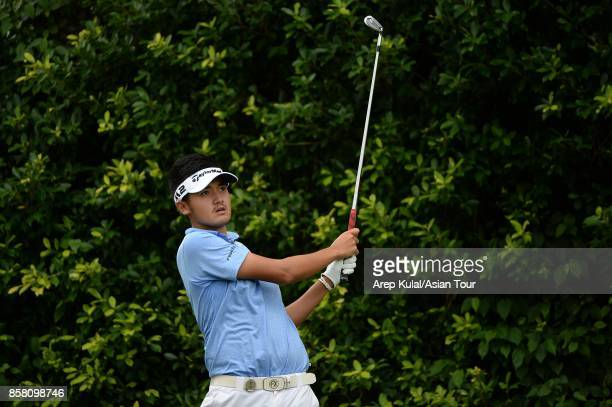 Liu Yan Wei of Chinan pictured during round two for the Yeangder Tournament Players Championship at Linkou lnternational Golf and Country Club on...