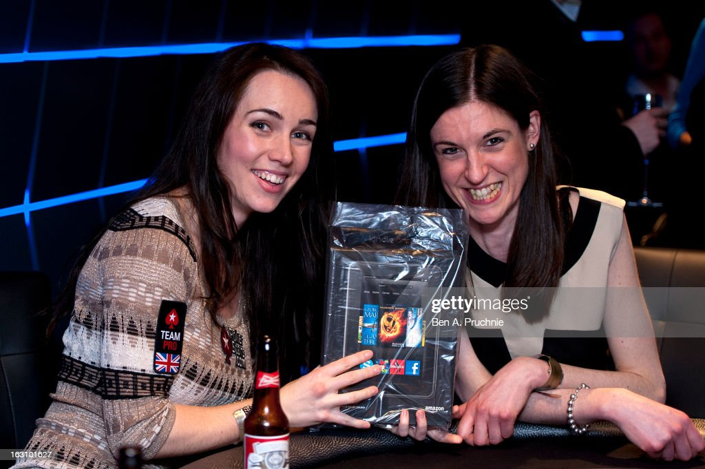 Liv Boeree attends the launch of The PokerStars LIVE Lounge at The Hippodrome Casino London on March 4, 2013 in London, England