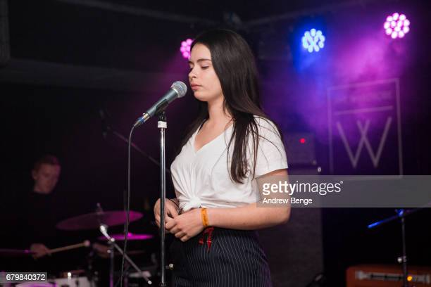 Liv Dawson performs at The Wardrobe during Live At Leeds on April 29 2017 in Leeds England Live at Leeds is a music festival that takes place across...
