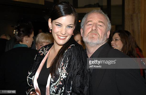 Liv Tyler and Bernard Hill during 'The Lord of the Rings The Two Towers' Hollywood Premiere at ArcLight Cinerama Dome in Hollywood California United...