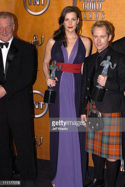 Liv Tyler and Billy Boyd cast members of 'Lord of the Rings The Return of the King' winner for Outstanding Performance by a Cast in a Motion Picture