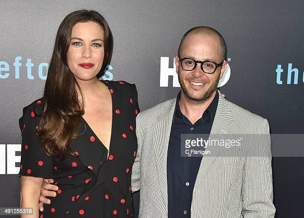 Liv Tyler and Damon Lindelof attend HBO's 'The Leftovers' Season 2 Premiere at Paramount Theatre on October 3 2015 in Austin Texas