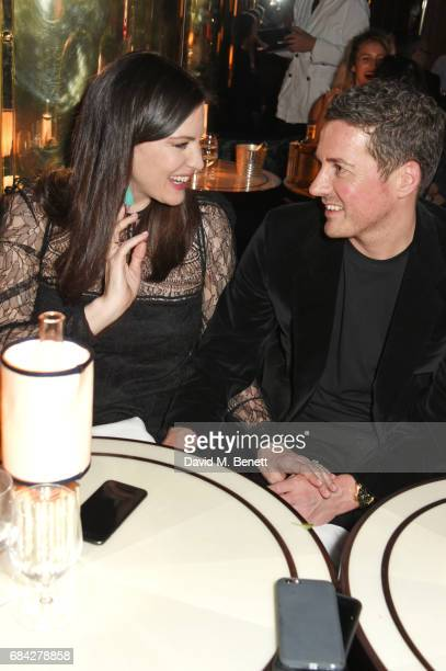 Liv Tyler and Dave Gardner attend a private dinner celebrating the launch of the KATE MOSS X ARA VARTANIAN collection at Isabel on May 17 2017 in...