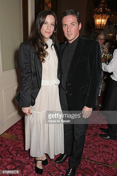 Liv Tyler and Dave Gardner attend as Audi hosts the opening night performance of 'La Fille Mal Gardee' at The Royal Opera House on April 23 2015 in...