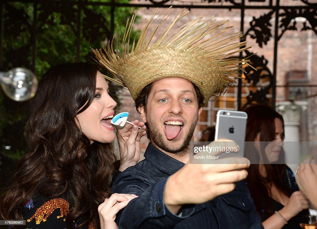 Liv Tyler and Derek Blasberg attend the Stella McCartney Spring 2016 Resort Presentation on June 8, 2015 in New York City.