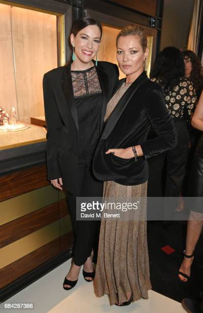Liv Tyler and Kate Moss attend the launch of the KATE MOSS X ARA VARTANIAN collection on May 17 2017 in London England