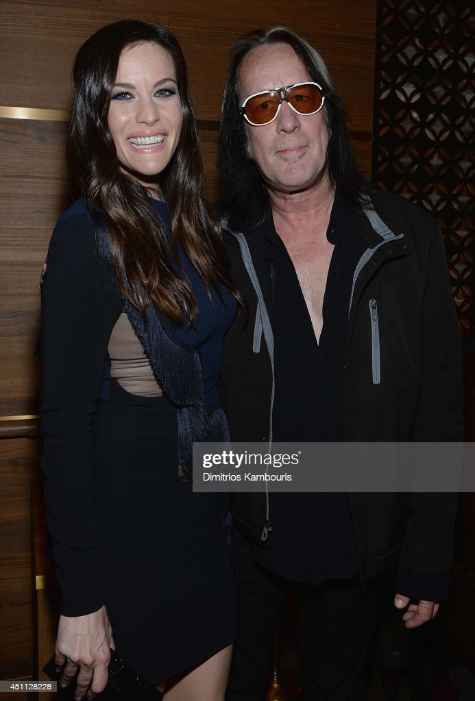 <a gi-track='captionPersonalityLinkClicked' href=/galleries/search?phrase=Liv+Tyler&family=editorial&specificpeople=202094 ng-click='$event.stopPropagation()'>Liv Tyler</a> and <a gi-track='captionPersonalityLinkClicked' href=/galleries/search?phrase=Todd+Rundgren&family=editorial&specificpeople=669124 ng-click='$event.stopPropagation()'>Todd Rundgren</a> attend 'The Leftovers' premiere after party at TAO on June 23, 2014 in New York City.