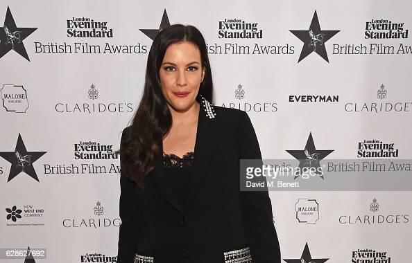 Liv Tyler arrives at The London Evening Standard British Film Awards at Claridge's Hotel on December 8 2016 in London England