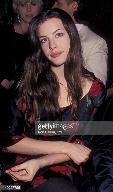 Liv Tyler attends 16th Birthday Party for Mia Tyler on December 17 1994 at Club Rouge in New York City