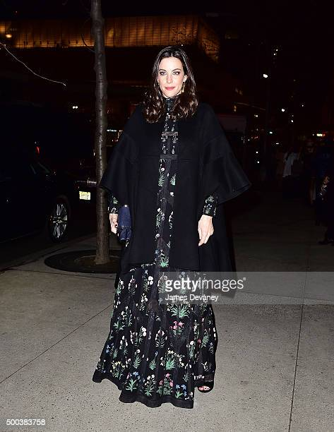 Liv Tyler attends 'An Evening Honoring Valentino' Lincoln Center Corporate Fund Gala at Alice Tully Hall at Lincoln Center on December 7 2015 in New...