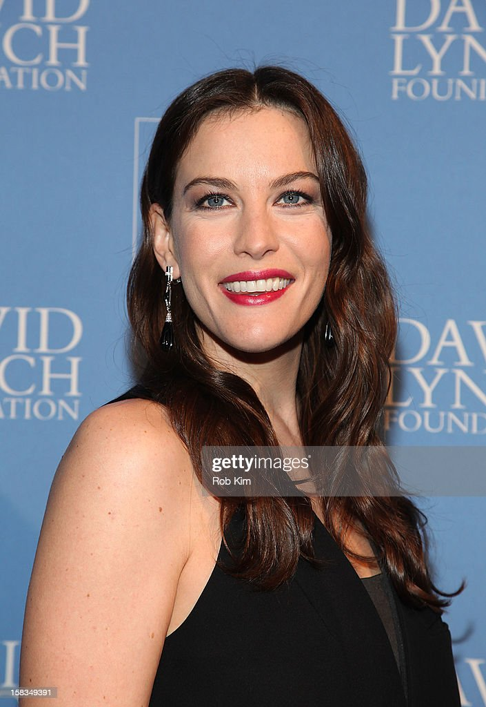 Liv Tyler attends 'An Intimate Night of Jazz' hosted by The David Lynch Foundation at Frederick P. Rose Hall, Jazz at Lincoln Center on December 13, 2012 in New York City.