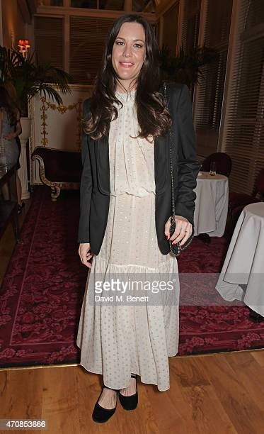 Liv Tyler attends as Audi hosts the opening night performance of 'La Fille Mal Gardee' at The Royal Opera House on April 23 2015 in London England