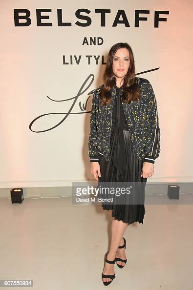 Liv Tyler attends as Belstaff and Liv Tyler launch the Spring Summer 17 collection during London Fashion Week at Victoria House on September 18 2016...