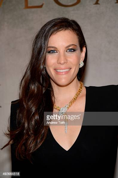 Liv Tyler attends Bvlgari And Rome Eternal Inspiration Opening Night at Bulgari Fifth Avenue on October 14 2015 in New York City