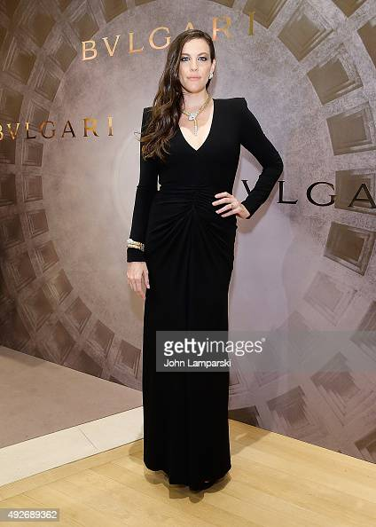 Eternal Inspiration opening night at Bulgari Fifth Avenue on October 14 2015 in New York City