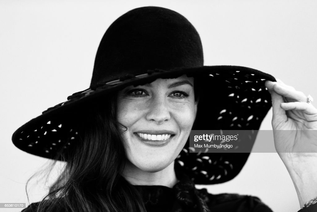 Image has been processed using digital filters) Liv Tyler attends day 2 'Ladies Day' of the Cheltenham Festival at Cheltenham Racecourse on March 15, 2017 in Cheltenham, England.