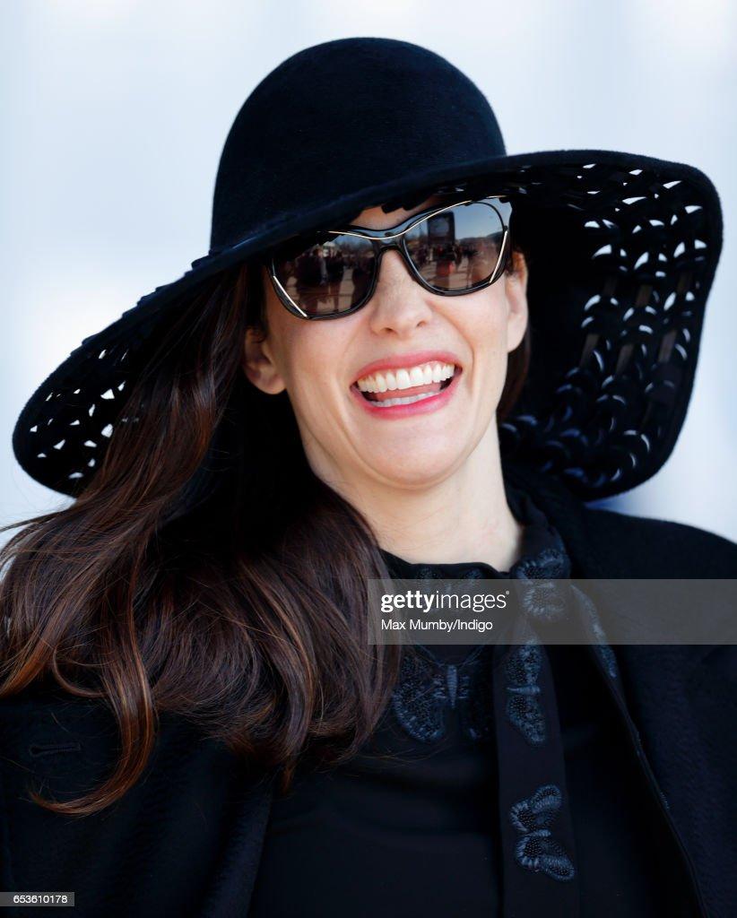 Liv Tyler attends day 2 'Ladies Day' of the Cheltenham Festival at Cheltenham Racecourse on March 15, 2017 in Cheltenham, England.