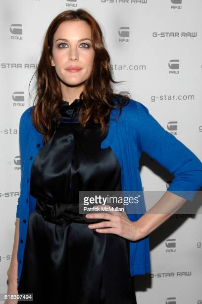 Liv Tyler attends GSTAR RAW Presents NY RAW Fall/Winter 2010 Collection Arrivals at Hammerstein Ballroom on February 16 2010 in New York City