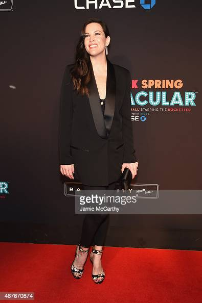 Liv Tyler attends the 2015 New York Spring Spectacular at Radio City Music Hall on March 26 2015 in New York City