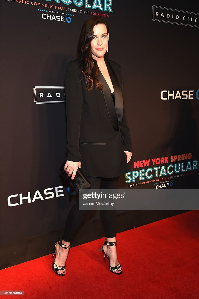 Liv Tyler attends the 2015 New York Spring Spectacular at Radio City Music Hall on March 26, 2015 in New York City.
