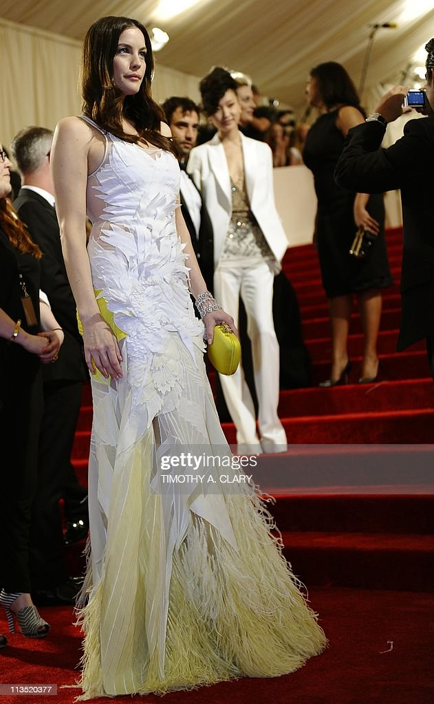 Liv Tyler attends the 'Alexander McQueen: Savage Beauty' Costume Institute Gala at The Metropolitan Museum of Art on May 2, 2011.