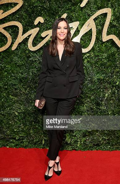 Liv Tyler attends the British Fashion Awards 2015 at London Coliseum on November 23 2015 in London England