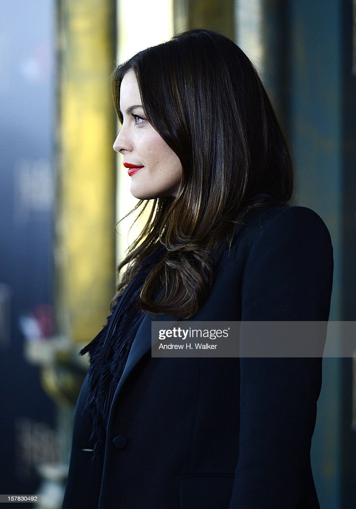 Liv Tyler attends 'The Hobbit: An Unexpected Journey' New York Premiere Benefiting AFI - Red Carpet And Introduction at Ziegfeld Theater on December 6, 2012 in New York City.