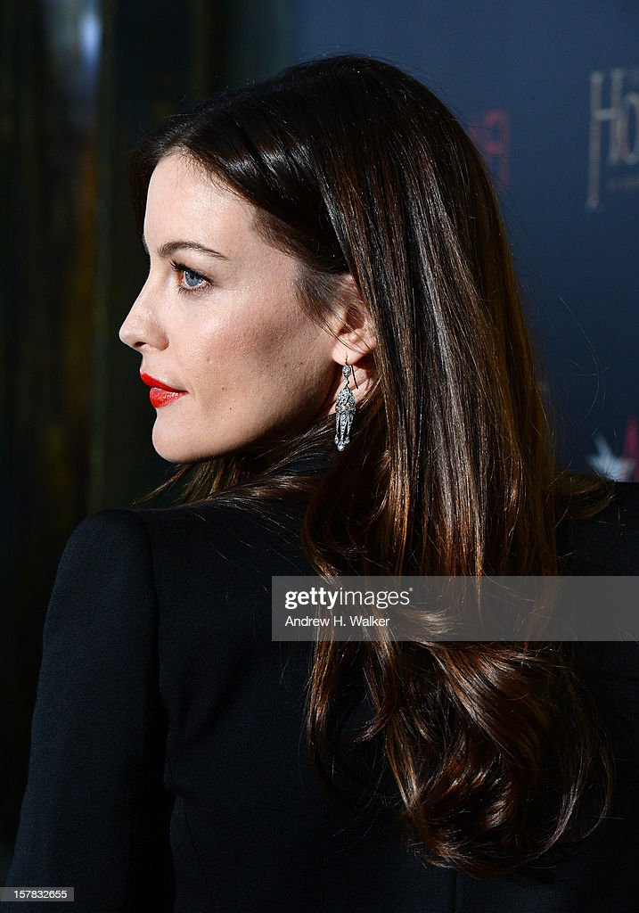 Liv Tyler attends 'The Hobbit: An Unexpected Journey' New York premiere benefiting AFI at Ziegfeld Theater on December 6, 2012 in New York City.