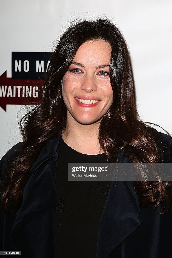 Liv Tyler attends the 'Waiting For Godot' Opening Night at the Cort Theatre on November 24, 2013 in New York City.
