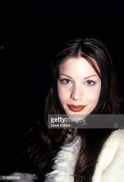 Liv Tyler Celebrates Joan Rivers Gossip Party at Club USA New York April 28 1993