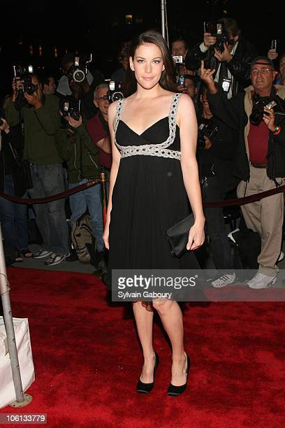Liv Tyler during 'New Yorkers For Children' Annual Fall Gala Dinner arrivals at Ciprianis 42nd Street in New York New York United States